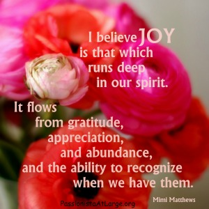 I believe JOY blog