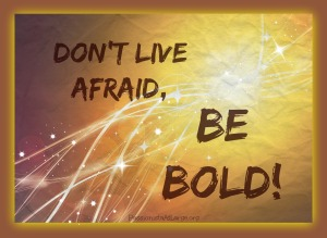 Don't live afraid (2)
