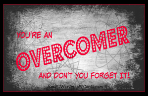 YOU'RE AN OVERCOMER BLACK