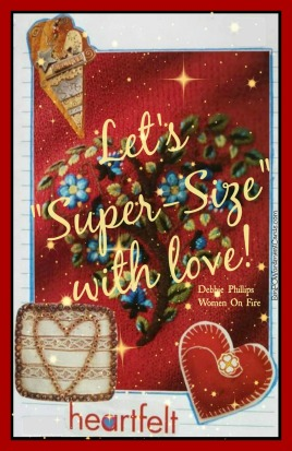 Let's super-size with love