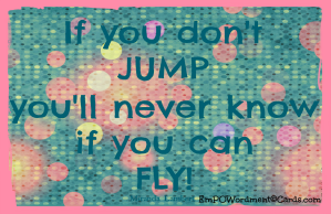 if you don't jump