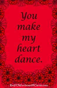 You make my heart dance2