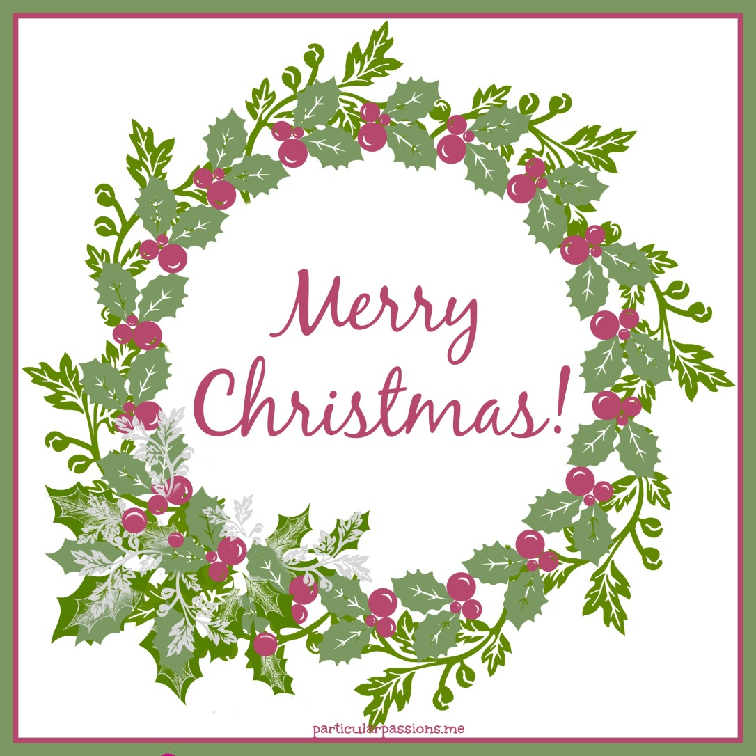 wreath Merry Christmas w passionista logo