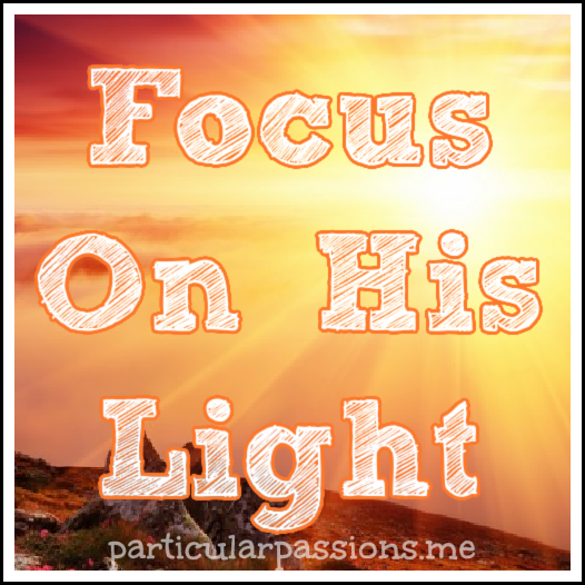 focus on his light
